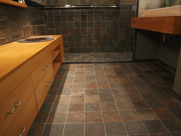Cheap diy bathroom flooring ideas 2017 2018 best cars for The ingenious ideas for bathroom flooring