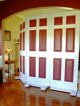 How To Build A Room Divider To Cover A Large Doorway Home