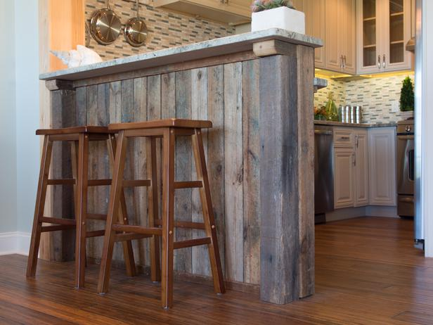 Adding A Kitchen Island Or How To Clad Blog Cabin Diy Network